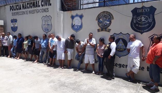 Autoridades informaron hoy los resultados del operativo que golpeó a estructura dedicada al tráfico de personas. Fotografía de Juan Carlos Villafranco / DEM.